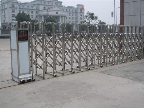 济宁市不锈钢电动伸缩门